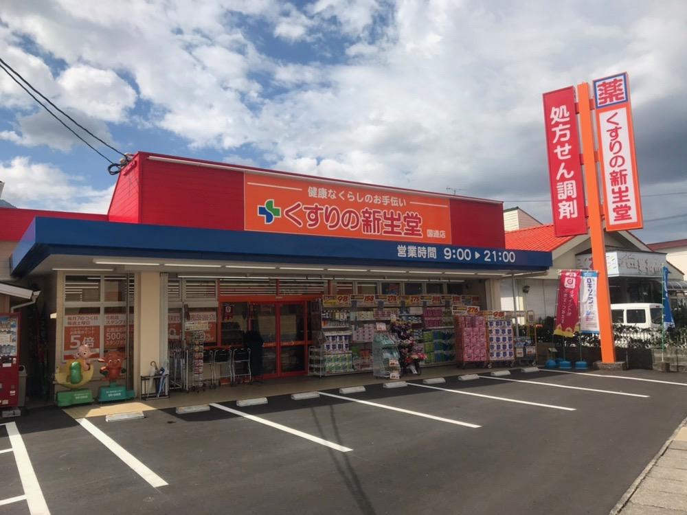 くすりの新生堂 国道店外観